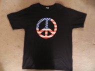 American Flag Peace Sign